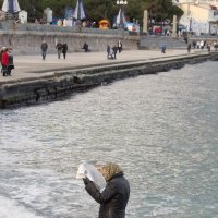У моря :: Надежда Данилкова