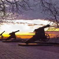 Пушки на Валу :: Александр Крупский