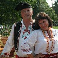 Веселая пара. :: Людмила Жданова