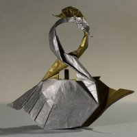 Оригами лебеди :: Богдан Петренко