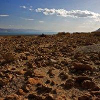Облака над Мертвым морем :: Юрий Вайсенблюм