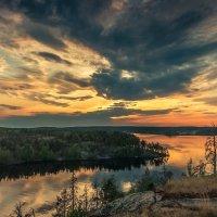 Закат на Ладожском озере :: Денис Алексеенков