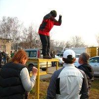 Репетиция мягкой посадки )) :: Марина Рыбалко