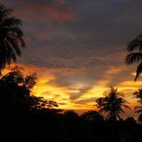 загоревшееся небо :: Сумбат Давыдян
