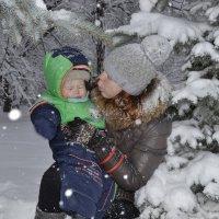 Веселые снежинки :: Олеся Бе бе