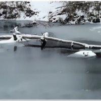 Замерзающая река #1 :: Евгений Кочуров
