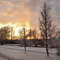 Зимний закат :: Евгений Джон