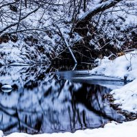 зимний ручей :: Dmitri_Krzhechkovski Кржечковски