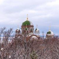 Храм в зимнем серебре. :: Николай Симусёв