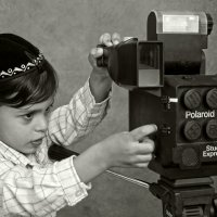 Studio Express-Polaroid«Израиль, всё о религии...» :: Shmual Hava Retro