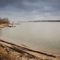 Обское море. Осень :: Елена Баландина