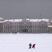 Питерская зима 2 :: Цветков Виктор Васильевич