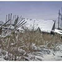 Заброшенный дом :: Екатерина Рябинина