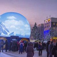 Встреча Олимпийского огня в Хакасии :: юрий Амосов