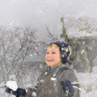 Вот и снег :: Любовь Белянкина