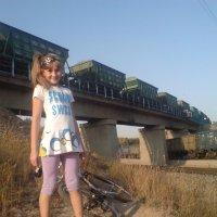 я в лесу возле железнодорожной дороги :: Кристина Подъяпольская