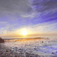 валдайские зарисовки (туман в мороз) :: юрий макаров