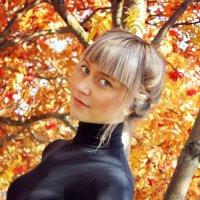 Девушка-осень :: Татьяна Парфенова