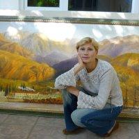 портрет на фоне пейзажа :: Андрей Козлов