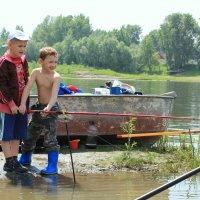 на рыбалке :: Slava