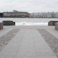 Невская пристань (старый стиль) :: Valerii Ivanov