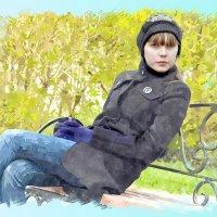 Незнакомка :: Виктор Ковчин