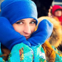 Замерзший волонтер :: Denis Bazaroff