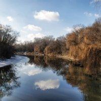 Зимние облака в реке :: Станислав Зелинский(открыт для конструктивной критики)