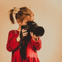 Начинающий фотограф (бэкстейдж)  =)) :: Елена Старцева