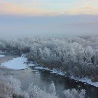 В снежном тумане. :: Наталья Юрова
