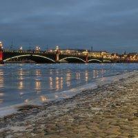 Панорама с Троицким мостом :: Valerii Ivanov