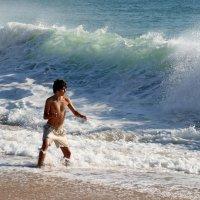 Мальчик и море :: Елена Жукова
