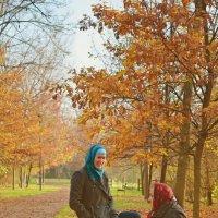На пороге жизни – осень и любовь. :: Лариса Н