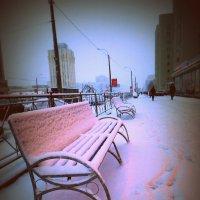Зимняя улица :: Анастасия Земкова