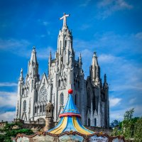 Храм Святого Сердца гора Тибидабу :: Вероника Галтыхина