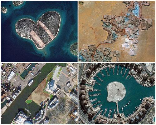 Новости в фотографиях - лучшие снимки со спутника 2013