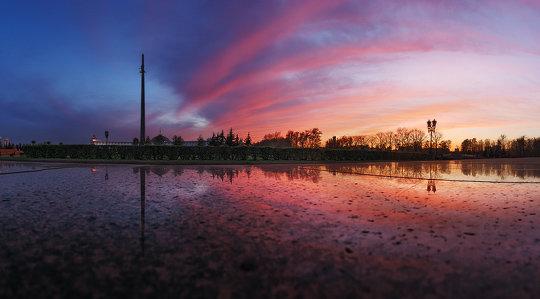 Красивые рассветы и закаты в фото пейзаже