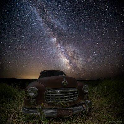 Один день из жизни фотографа и любителя ночного неба Аарона Грона