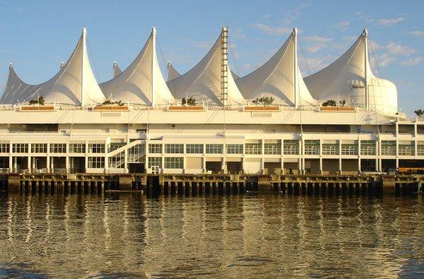 Морской порт Ванкувера.