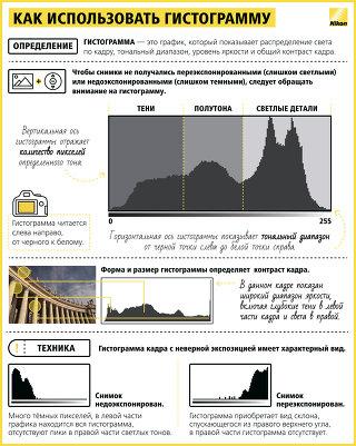 Инфографика от экспертов компании Nikon