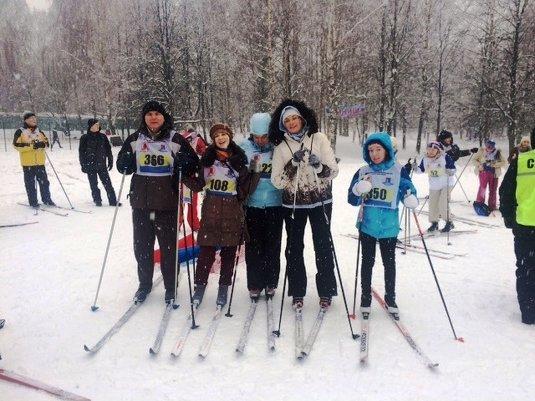 03.02.2017 Соревнования по лыжным гонкам.