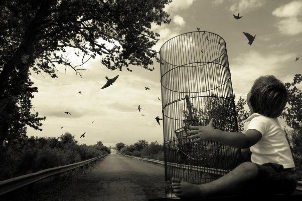 «Блуждающие сны». Фотограф Анджела Бэкон-Кидвелл