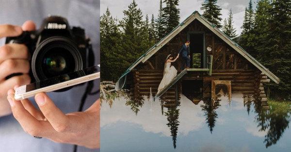 Про волшебные свойства смартфона в портретной и свадебной фотографии