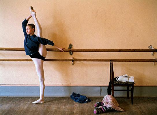 Фотопроект о русской балетной школе от Рэйчел Папо
