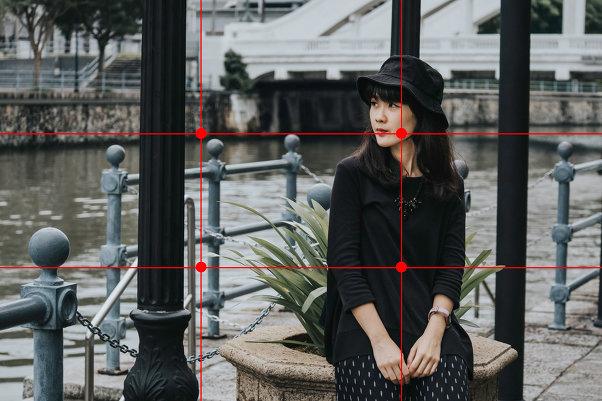 Как применить правило третей в портретной и уличной фотографии