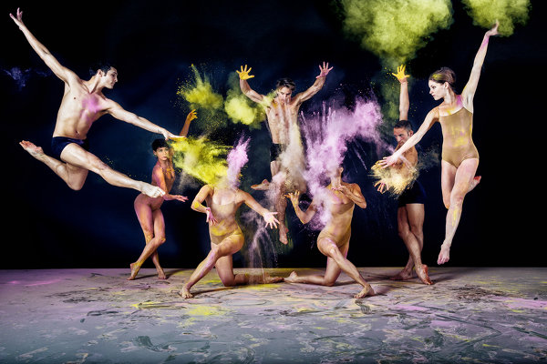 Фееричная фотосессия балетной труппы