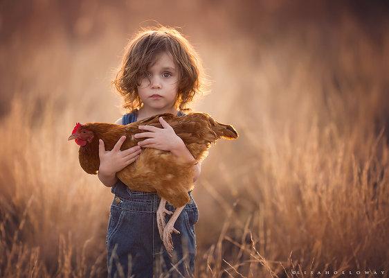 Детские образы в фотографиях Лизы Холлоуэй