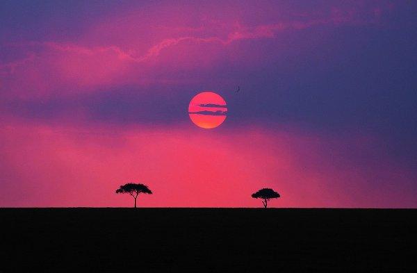 Удивительные закаты