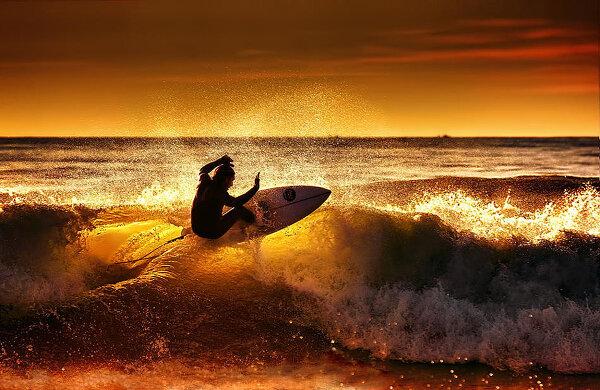 Сёрфинг во всей красе