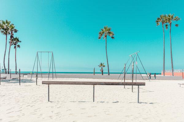 Калифорния в пастельных тонах